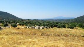 Paysage de la Grèce Photographie stock libre de droits