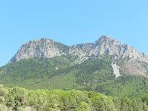 Paysage de la montaña imagenes de archivo