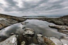 Paysage de la Norvège Photo libre de droits