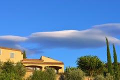 Paysage de la Provence, France Image libre de droits
