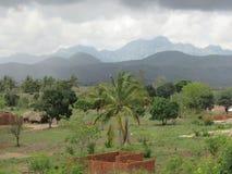 Paysage de la Tanzanie image libre de droits