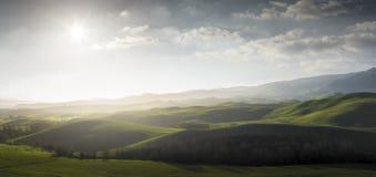Paysage de la Toscane Photographie stock