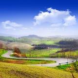 Paysage de la Toscane photo libre de droits