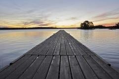Paysage de lac Photographie stock libre de droits