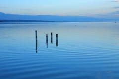 Paysage de lac Photos libres de droits