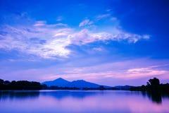 Paysage de lac Photo stock