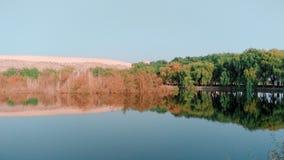 Paysage de lac autumn image libre de droits