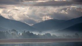 Paysage de lac Lugu Image libre de droits