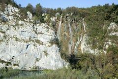 Paysage de lacs Plitvice photos stock