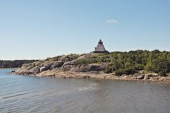 Paysage de Larvik Photo libre de droits