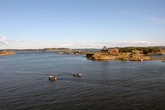 Paysage de Larvik Photos libres de droits