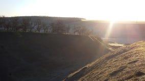 Paysage de lever de soleil Photo stock