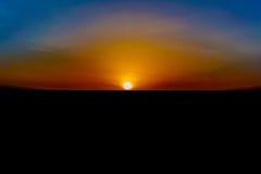 Paysage de lever de soleil au Kenya images stock