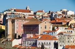 Paysage de Lisbonne Photo stock