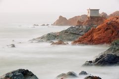 Paysage de littoral Image stock