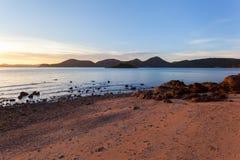 Paysage de littoral, Chonburi Thaïlande image stock