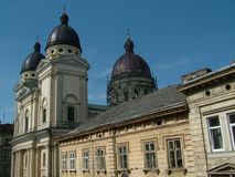 Paysage de Lviv, Ukraine Photos stock