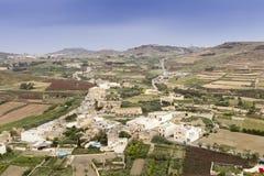 Paysage de Malte Photographie stock