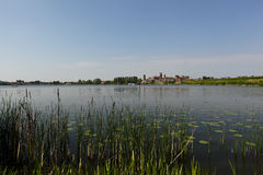 Paysage de Mantua, Italie photos stock