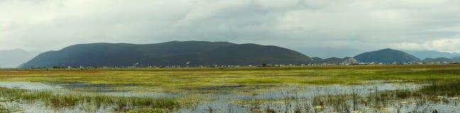 Paysage de marécage de La de Shangri photo libre de droits