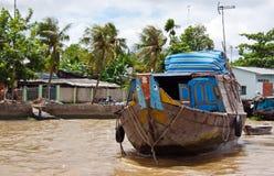 Paysage de Mekong de fleuve Image stock