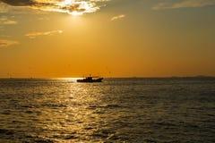 Paysage de mer Photo libre de droits
