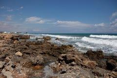 Paysage de mer, Crète Analipsi Photo libre de droits