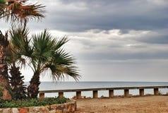 Paysage de mer de Tarragone de l'Espagne Images stock