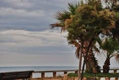 Paysage de mer de Tarragone de l'Espagne Photos stock