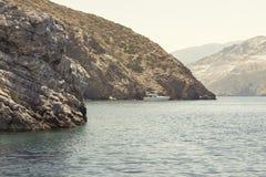Paysage de mer et de montagne Image stock