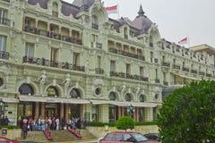 Paysage de Monako Monte Carlo Image libre de droits
