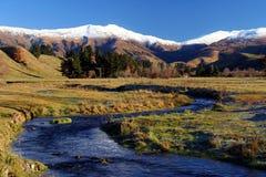 Paysage de montagne Images libres de droits