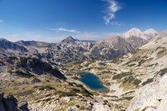 Paysage de montagne Photographie stock