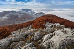 Paysage de montagne Photo stock