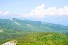 Paysage de montagne. photos libres de droits