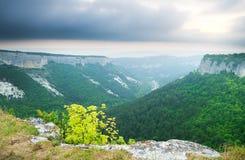 Paysage de montagne photos stock