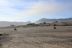 Paysage de montagne de désert Photographie stock