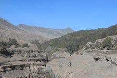 Paysage de montagne de désert Photo libre de droits