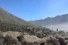 Paysage de montagne de désert Image stock
