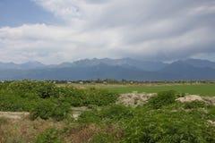 Paysage de montagne d'Oguz azerbaïdjanais Photo libre de droits