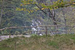Paysage de montagne d'Oguz azerbaïdjanais Photos stock