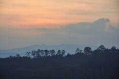 Paysage de montagne dans Dalat, Vietnam Photographie stock libre de droits