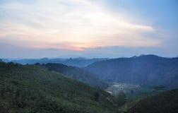 Paysage de montagne dans Dalat, Vietnam Image stock