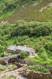 Paysage de montagne dans la vallée d'élan du Pays de Galles Photo libre de droits