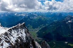Paysage de montagne dans les Alpes bavarois photos libres de droits