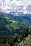 Paysage de montagne dans les Alpes bavarois photo stock