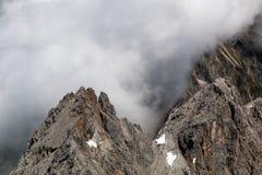 Paysage de montagne dans les Alpes bavarois photos stock