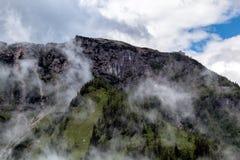 Paysage de montagne dans les Alpes bavarois images libres de droits