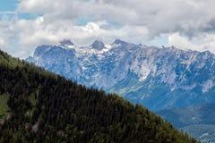 Paysage de montagne dans les Alpes bavarois image libre de droits