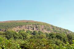 Paysage de montagne dans les balises de Brecon du Pays de Galles Images stock